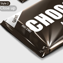 chocolate mock-up